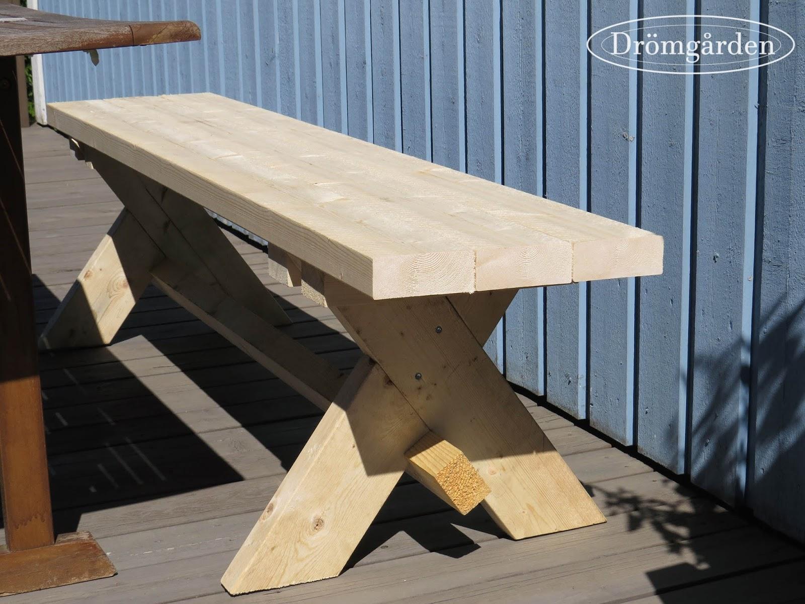 Icke gamla Drömgården: Bygga en bänk LR-39