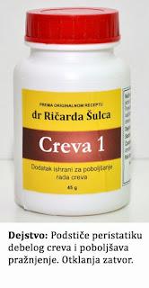 creva 1 (preparat za čišćenje creva)