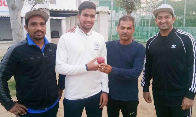 Kashyi Industries XI beat Kaushik Cricket Academy by 6 wickets