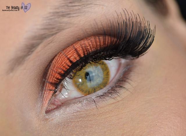 Orange Cut Crease Makeup Tutorial