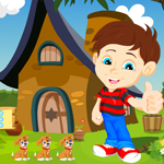 Games4King Boy Rescue From Forest House