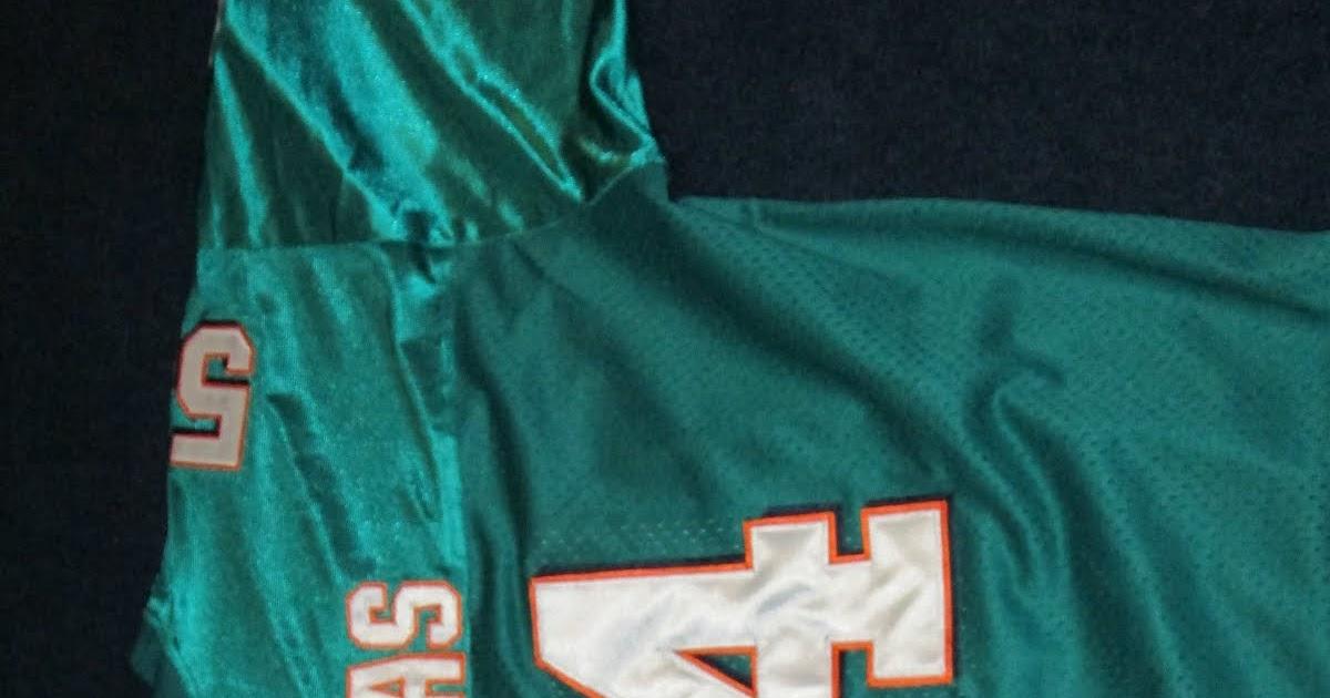 45a46b044 Vintage10916 Store  Vintage Zach Thomas Miami Dolphins New England Patriots  Split Sewn Jersey