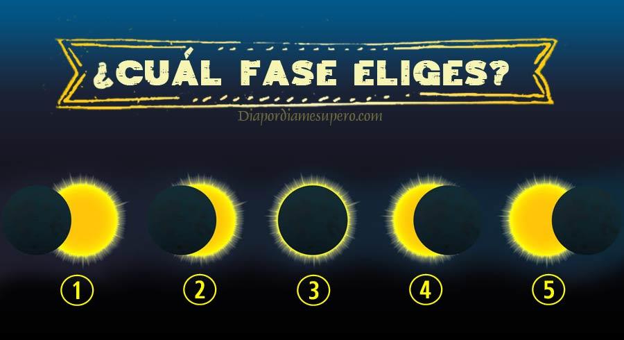 Test: Elige una fase del eclipse y te diré qué es lo que hubieras hecho en otra vida