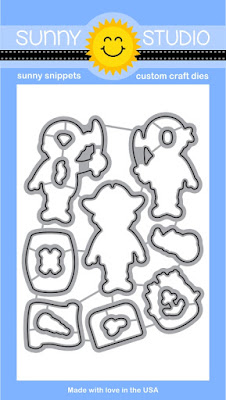 Sunny Studio Stamps Pirate Pals Coordinating Dies