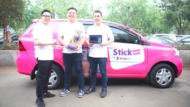 StickEarn Jalin Kerja Sama Strategis dengan Grab Luncurkan StickMart