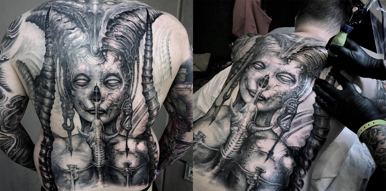 Anjatattoo Tatuaż Unikalna Kopia