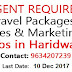 Walk-In Urgent Required Female Candidates Online Sale Executive- Domestic Tour Packages (sales) In Haridwar