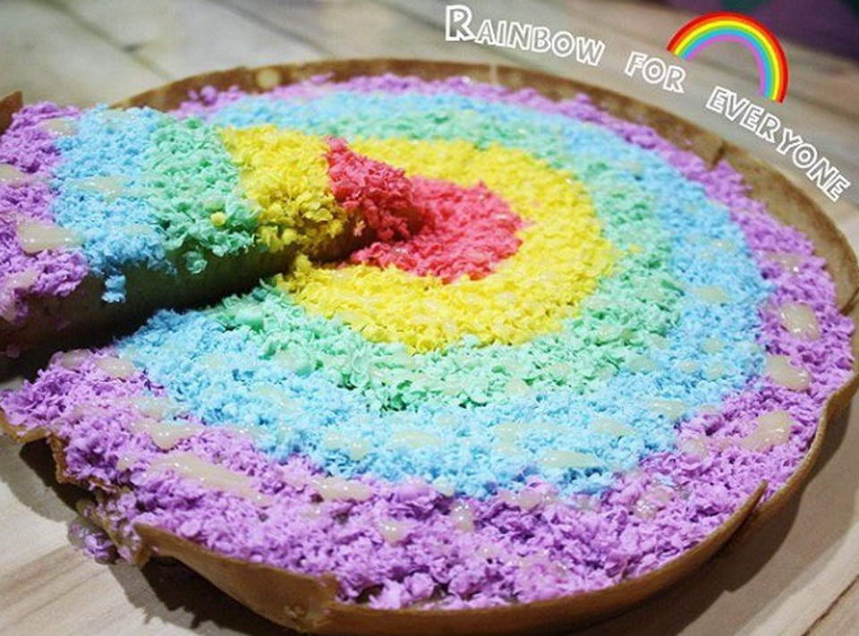 Martabak Rainbow