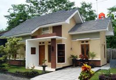 contoh bentuk rumah sederhana di kampung