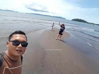 Pantai Surabaya, Wineru, Likupang Timur: Keluarga Suwanto +jelajahsuwanto