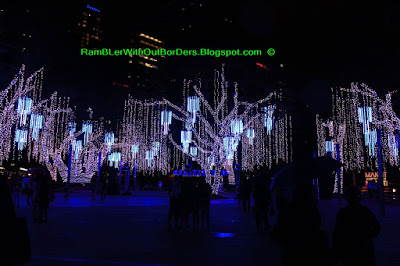 Festival of Lights, Christmas display, Ayala Triangle Park, Makati, Manila, Philippines