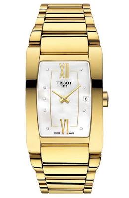 Ceas Tissot T1053093311600 elegant auriu de dama original