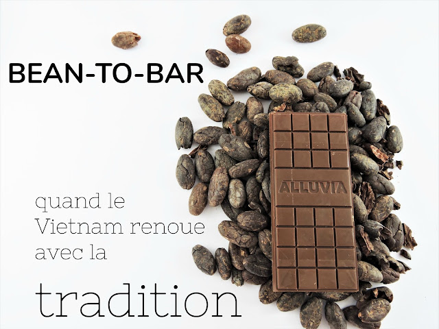 chocolat sans sucre Alluvia bean-to-bar vietnam