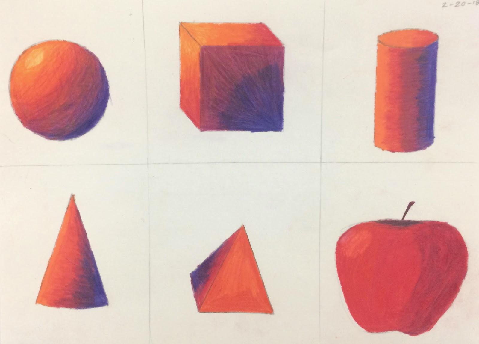 Art 2 Colored Pencil Prep Work