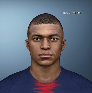PES 2017 Faces Kylian Mbappé by Sameh Momen