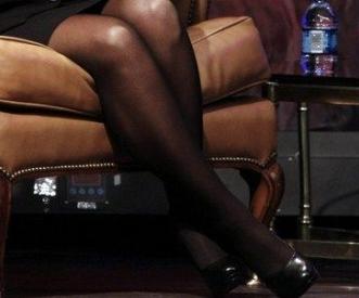 Sarah Palin Pantyhose Legs 59