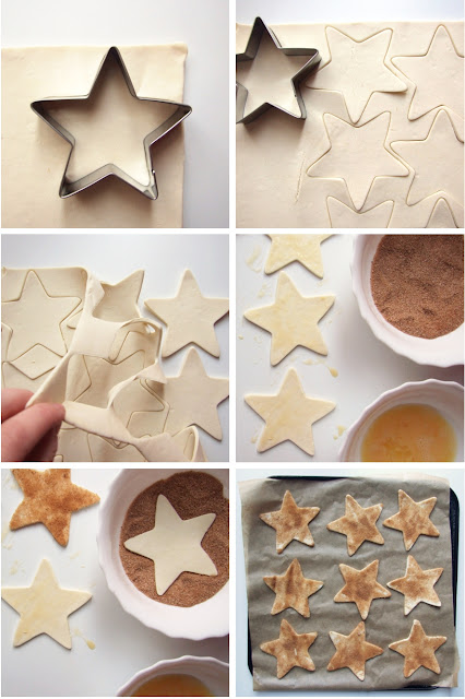Cinnamon Pastry Stars Party Snacks - Gathering Beauty