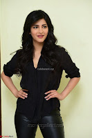 Shruti Haasan Looks Stunning trendy cool in Black relaxed Shirt and Tight Leather Pants ~ .com Exclusive Pics 057.jpg