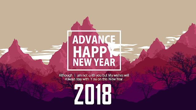 Advance Happy New Year 2018 SMS