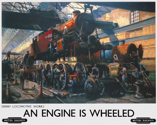 Art & Artists Railway Posters Part 9