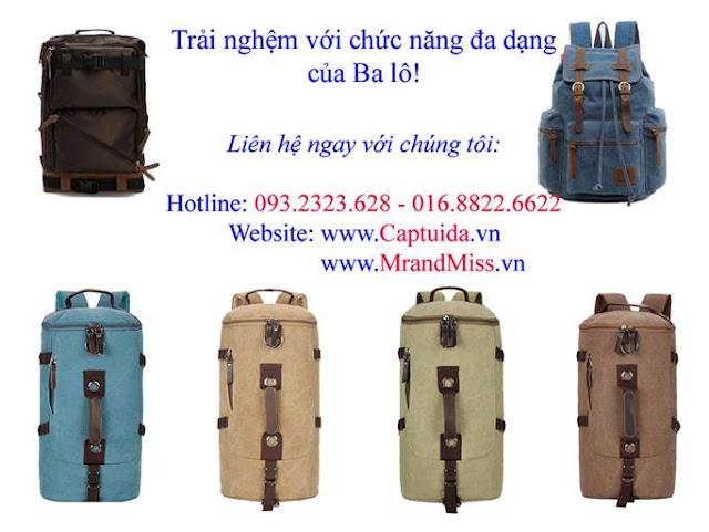 Balo Nam Thoi Trang Ben Dep Chac Chan Danh Cho Hoc Sinh Sinh Vien