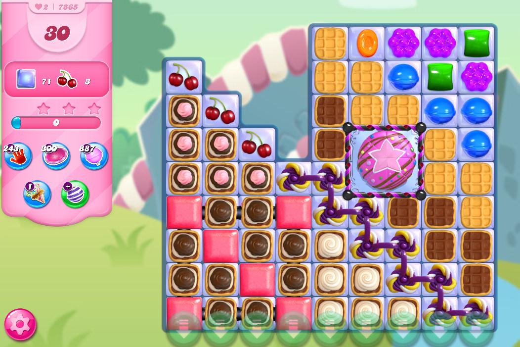 Candy Crush Saga level 7865