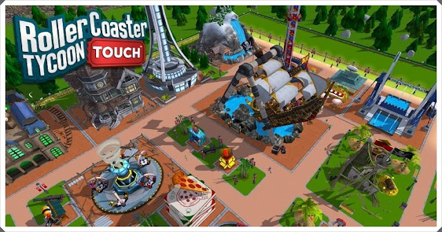 RollerCoaster Tycoon Touch Mod Apk 1.6.41 - Unlimited Coins & Gems
