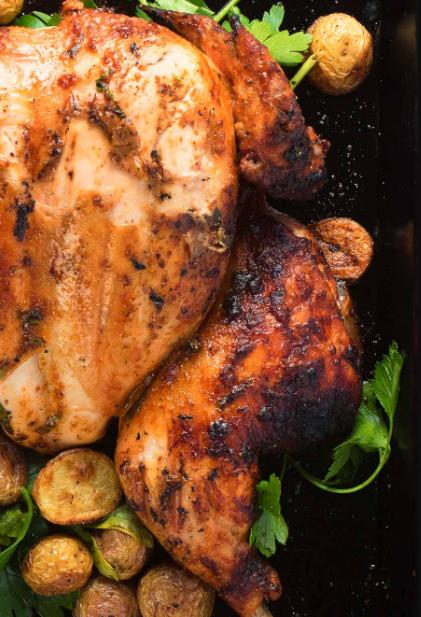 Portuguese Chicken - Piri Piri Grilled Chicken