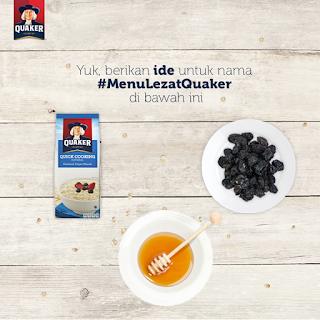 Info Kuis - Kuis #MenuLezatQuaker  Berhadiah Bingkisan Menarik dari Quaker Oats
