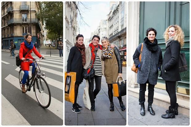 People Wear In Paris France Pin