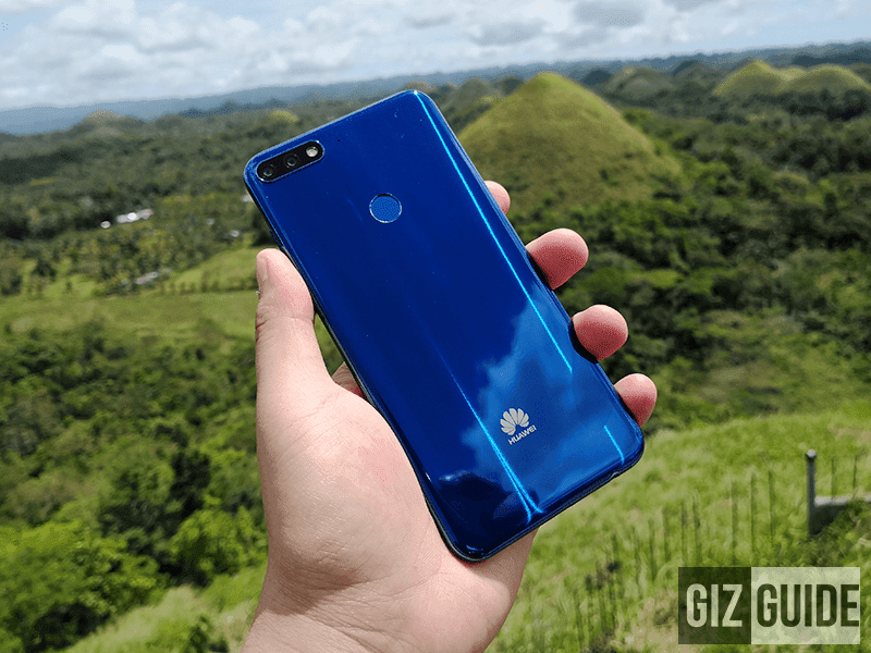 Huawei teased a new phone with 18:9 screen and dual cameras in Bohol