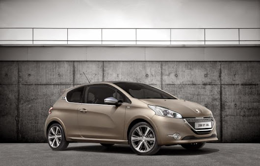All About Vehicles: Peugeot introduced Peugeot 208 XY JBL limited edition for France