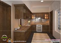 Kitchen Design Aakriti Studio - Kerala Home