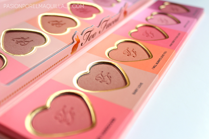 Love Flush Blush Palette Too Faced