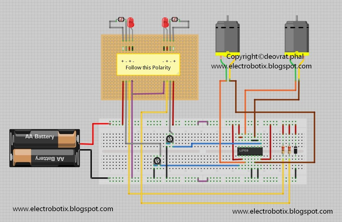 Technical In Autonomous Robotics Opamp Lm324 Start With Circuits Of Why Click Image For Enlarged View