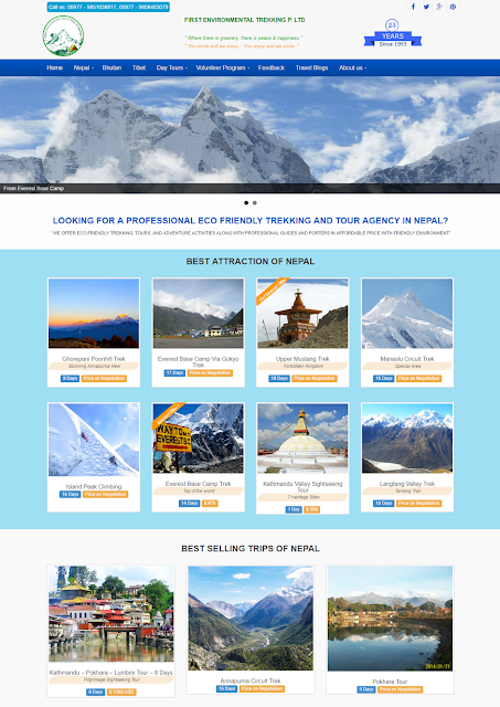 go2trek nepal site