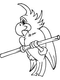Adorable King Bird Coloring Sheet Ideas