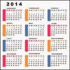 List of Important days 2014 In India PDF