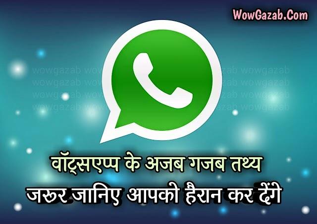 वाट्सएप की रोचक बातें (Whatsapp Ke Rochak Tathya Hindi)