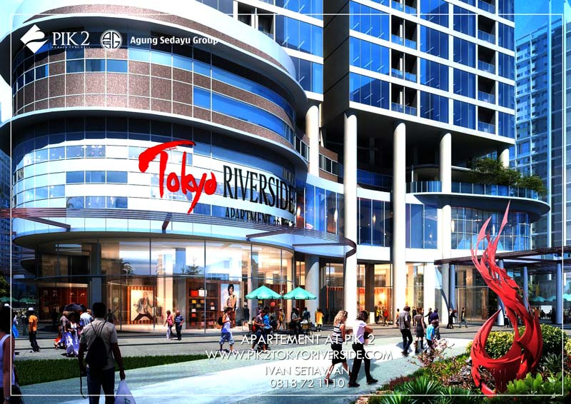 mall  apartemen tokyo riversdie pik 2