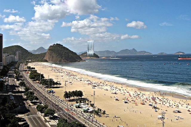 Praia na Cidade do Rio de Janeiro