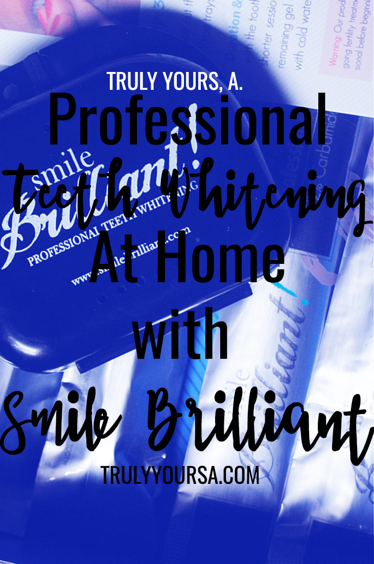 White smiles are always in fashion and with the help of Smile Brilliant I was able to whitening my teeth I wanted without an expensive dentist visit or painful tooth sensitivity! I was beyond skeptical about using this kit due to my sensitive teeth. I've tried at-home kits in the past and the results were less than stellar and my teeth were ultra-sensitive afterward. I was lucky enough to give the Smile Brilliant teeth whitening kit a try and I was blown away by the results! Looking for a way to whiten your coffee stained teeth? Keep reading for my honest review of the Smile Brilliant home teeth whitening system and learn how you can win one for yourself!