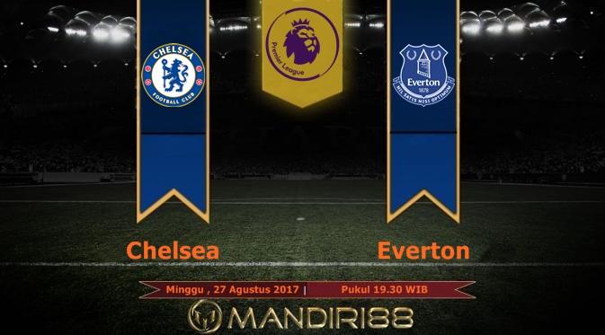 Prediksi Bola : Chelsea Vs Everton , Minggu 27 Agustus 2017 Pukul 19.30 WIB