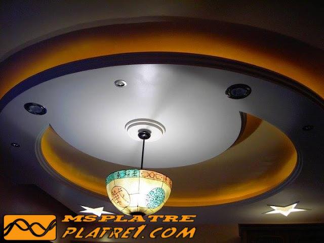 Faux plafond plâtre 2015