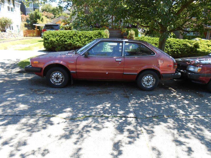 Seattle's Parked Cars: 1981 Honda Accord Hatchback