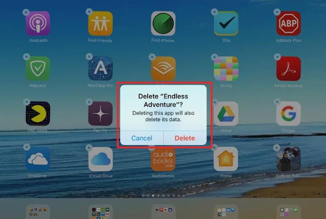 how to remove an app from your ipad