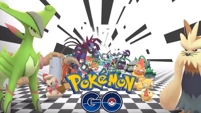 Pokemon GO Rilis Pokemon Generasi 5 dari Unova Region