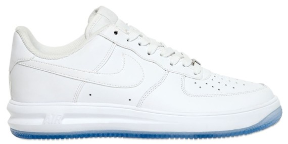 TODAYSHYPE: Nike Lunar Force 1 Leather WhiteIce