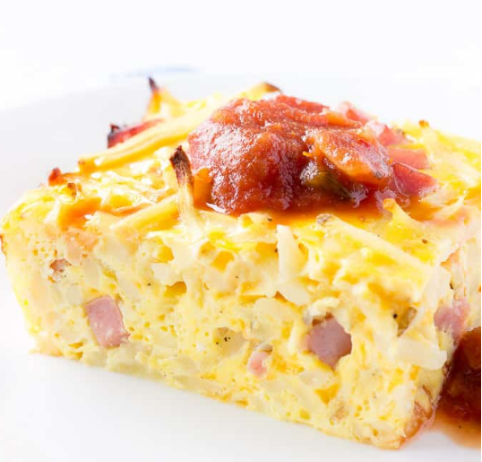 EASY BREAKFAST CASSEROLE #dinner #recipe