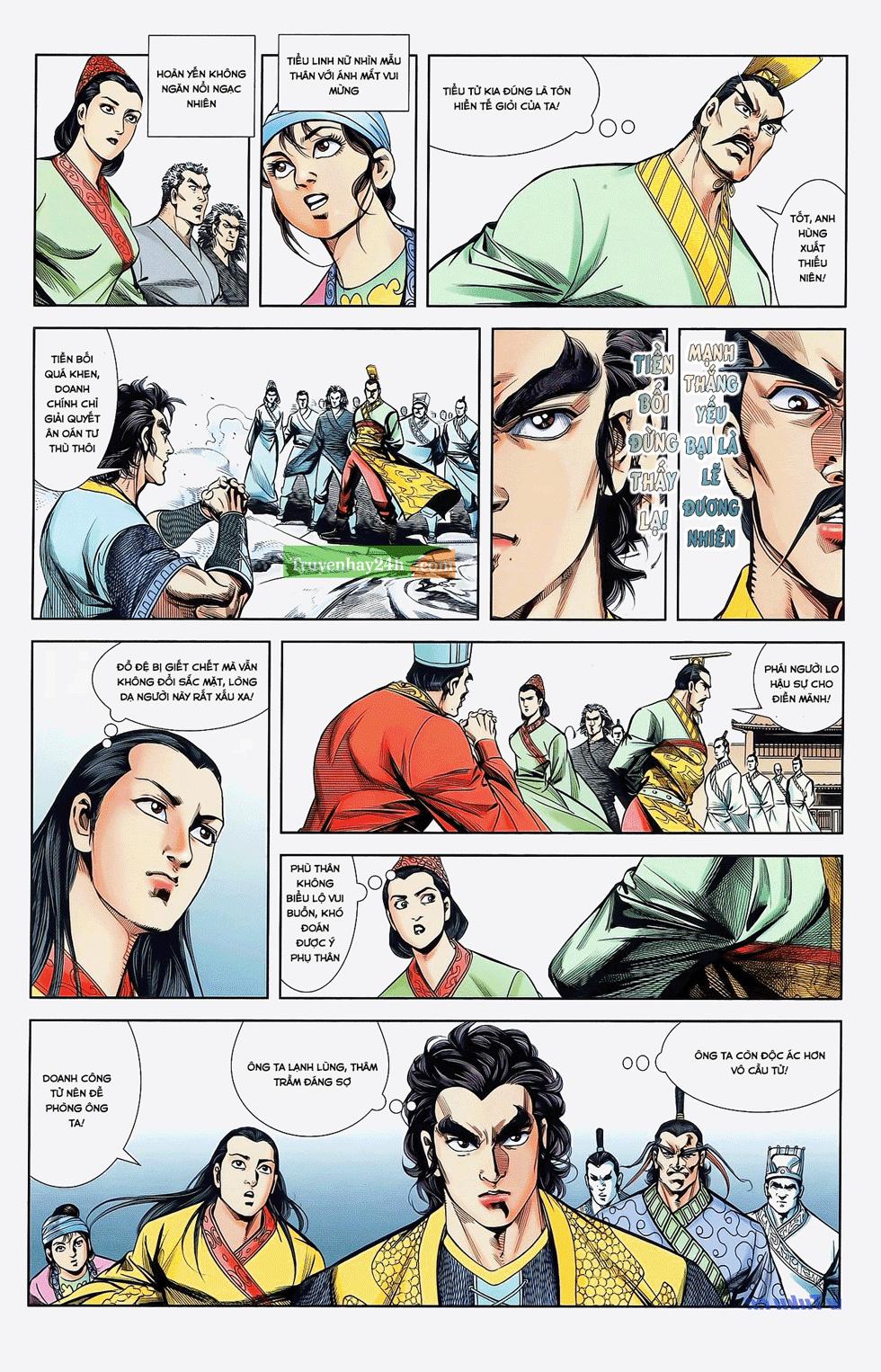Tần Vương Doanh Chính chapter 22 trang 24